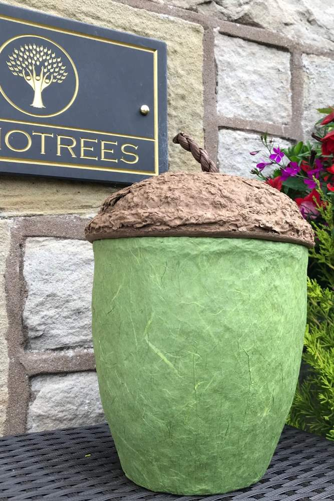 Biodegradable Burial Urns from Memotrees in Alston, Cumbria
