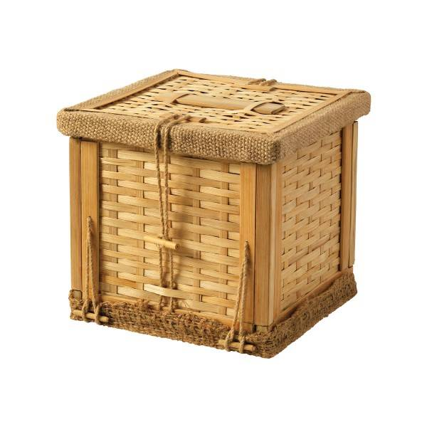 Bamboo Ashes Casket