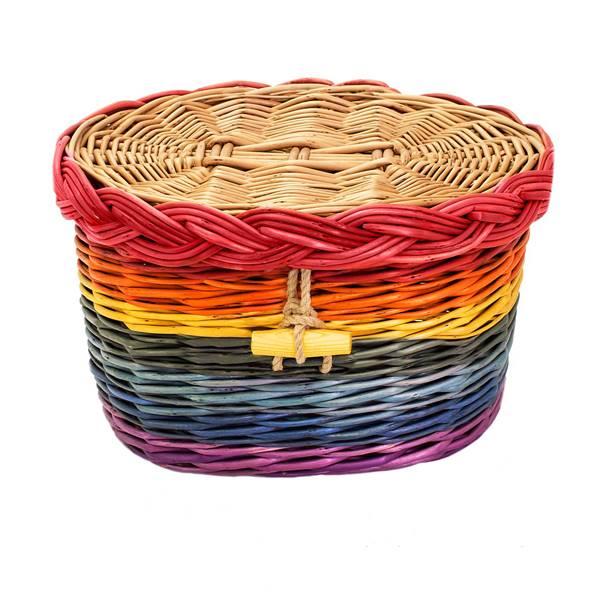 Rainbow Ash Casket