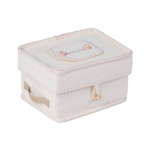 Natural Woollen Ashes Casket