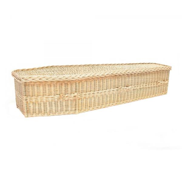 Avalon Traditional Natural Coffin