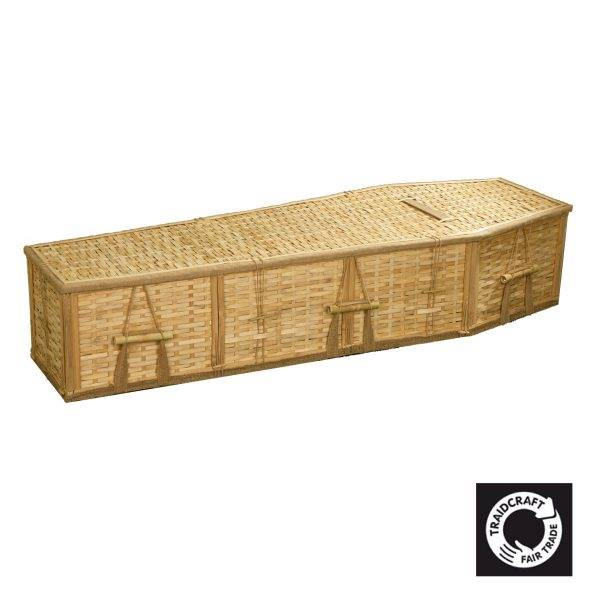 Natural Bamboo Coffin