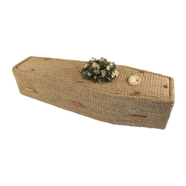 Traditional Banana Leaf Coffin