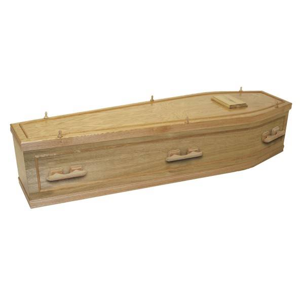 Whitby Wooden Natural Coffin